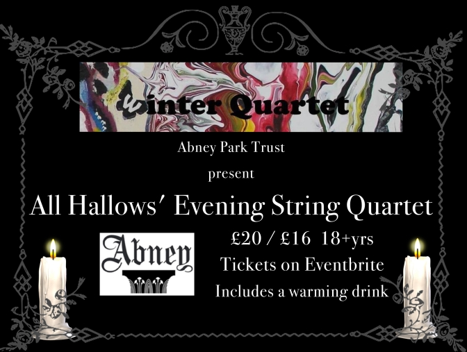All Hallows' Evening String Quartet in Abney Park Cemetery