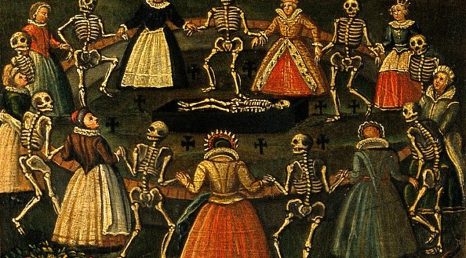 Dancing with Death: A Short History of Funeral Feasts & Merry Wakes