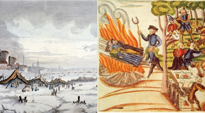 Ice & Fire: How a Folk Demonology in the 'Little Ice Age' Led to the Witch Hunts of the 16th & 17th Centuries